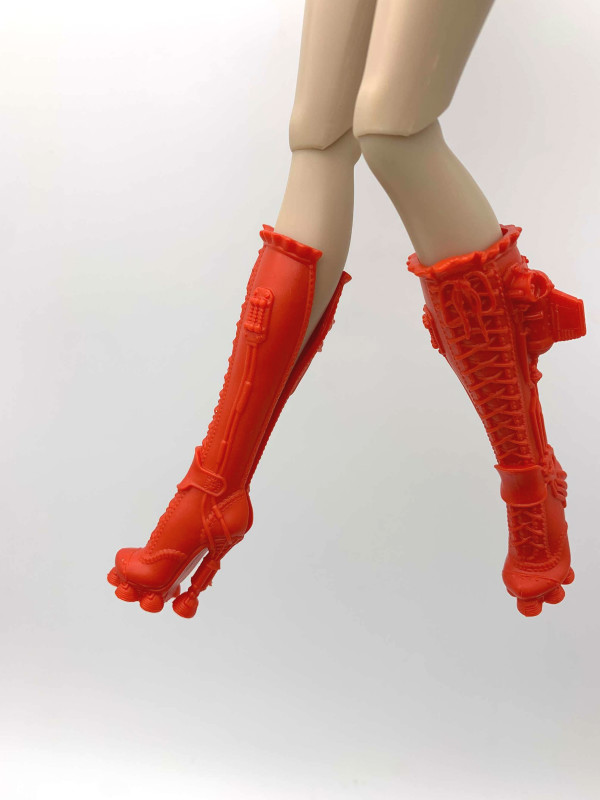 Toy Doll Shoes Boots For Fashion FR2 Dolls A170