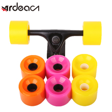 ARDEACN 4pcs 70*51 Racing long board wheel PC buckle Grinding