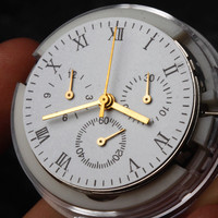 Vintage Retro Clone Automatic Watch Movement Chronogrpah For Asian 7753 Mechnical Replacement Repair Movement For 7753