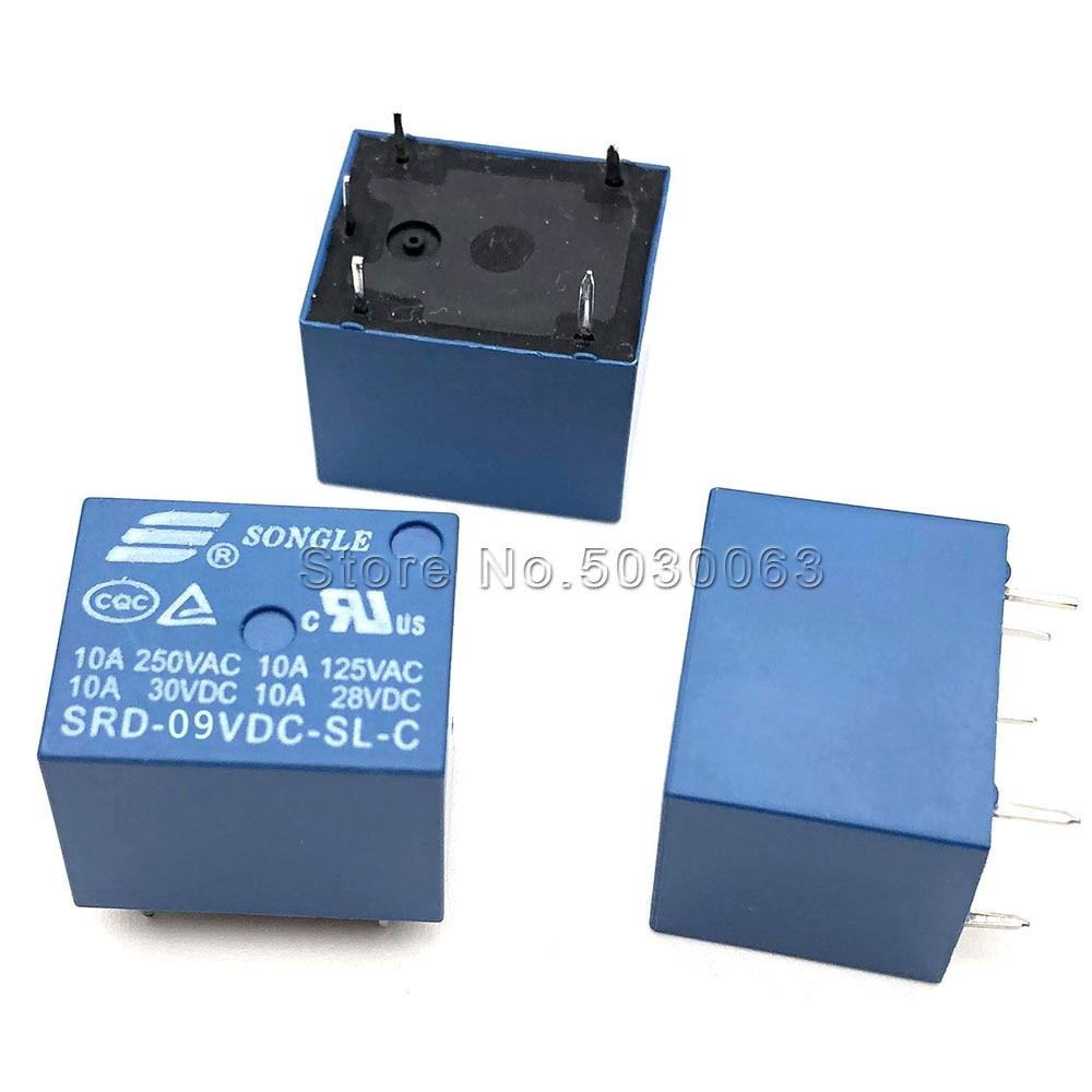 250v//10a srd-09vdc-sl-c 4515z X6 relay 9v