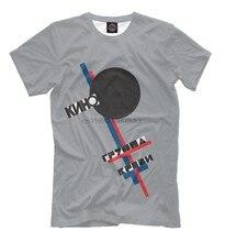Viktor Tsoi-legendarny związek radziecki Rock Group T shirt Kino zsrr Tee marka lato styl mężczyźni O-Neck krótki rękaw Slim Fit