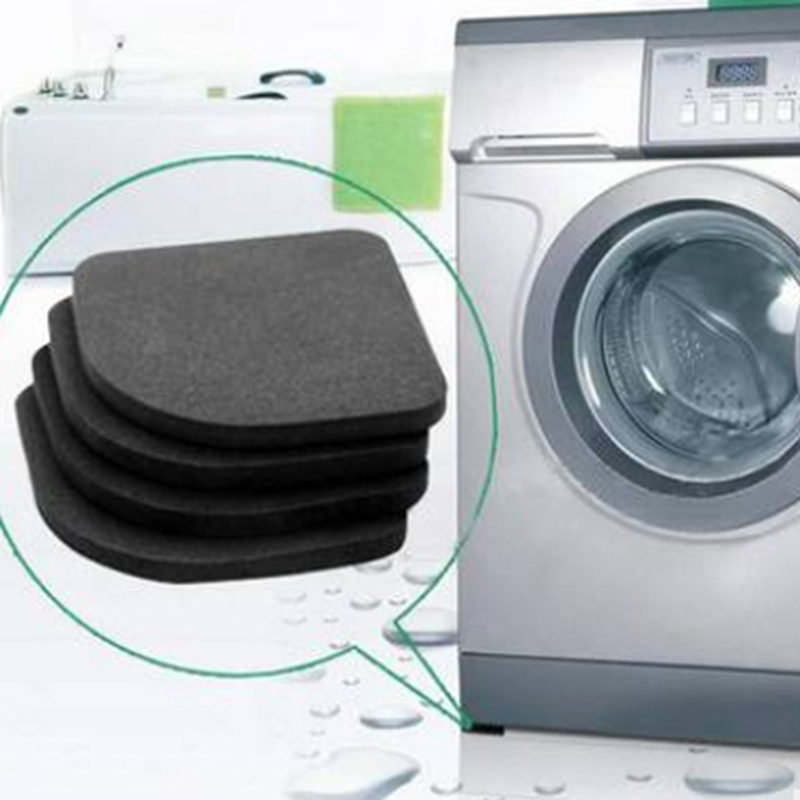 High Quality Washing Machine Shock Pads Non-slip Mats Refrigerator Anti-vibration Pad  Cushion For Washing Machine