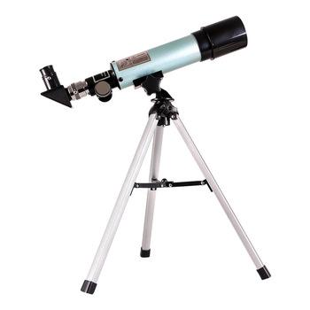 Teleskop astronomiczny refrakcyjny 360 #215 50 z przenośny statyw teleskop monokularowy sky i teleskop obserwacyjny na zewnątrz tanie i dobre opinie CN (pochodzenie) 65161 F36050 Astronomical telescope Single telescope