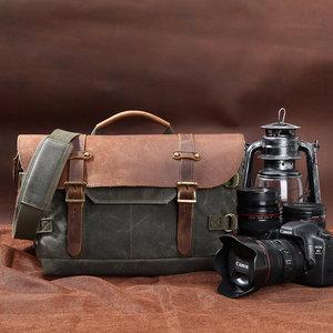 Image 5 - Toile étanche DSLR sans miroir sac photo voyage en plein air randonnée photographie sacs à bandoulière étui pour Canon Nikon Sony Panasonic