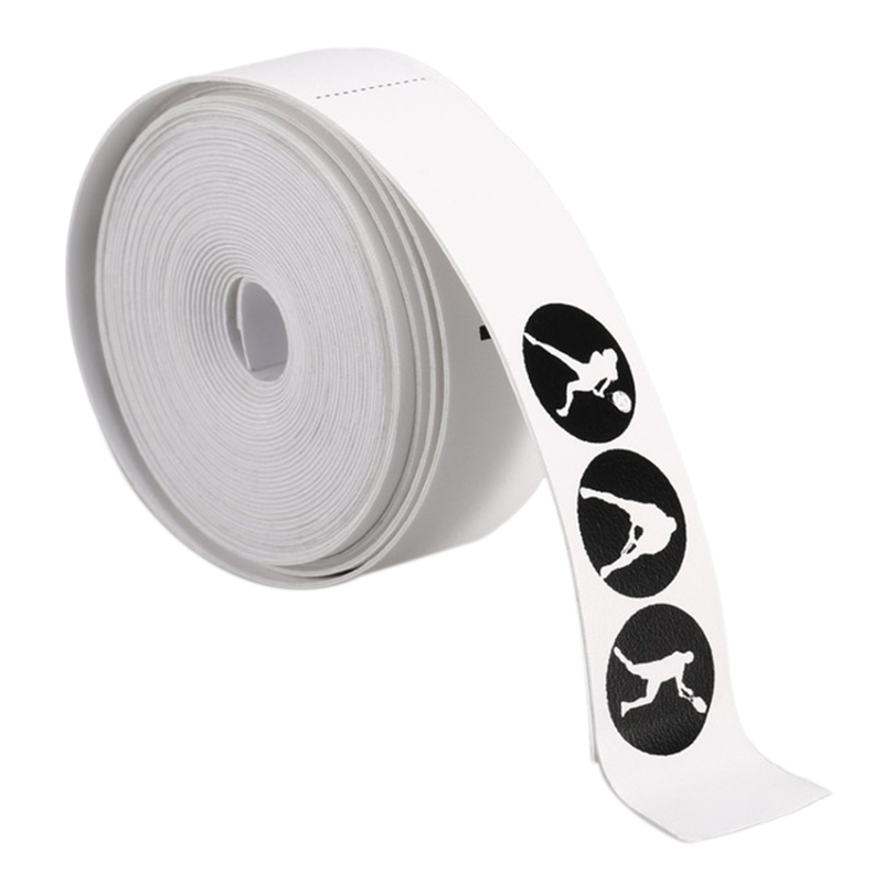 POWERTI Tennis Racket Head Protection Tape Sticker Tennis/Squash Protection Tape Racquet Tennis Accessories
