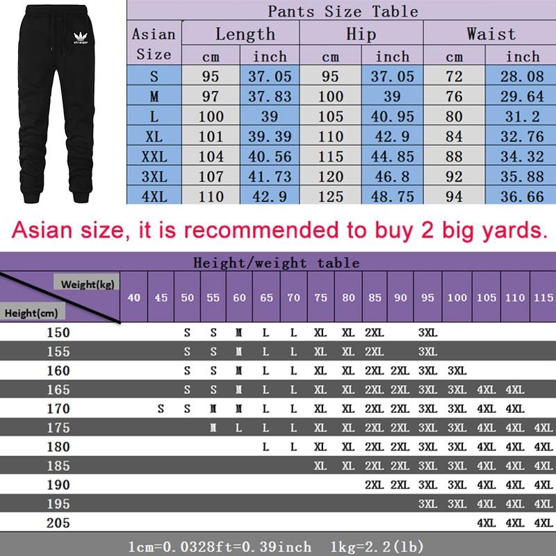 2020 New Autumn Men Tracksuit 2 Piece Sets Hoodies+Pants Sweater Sports Suit Streetswear Jackets 6