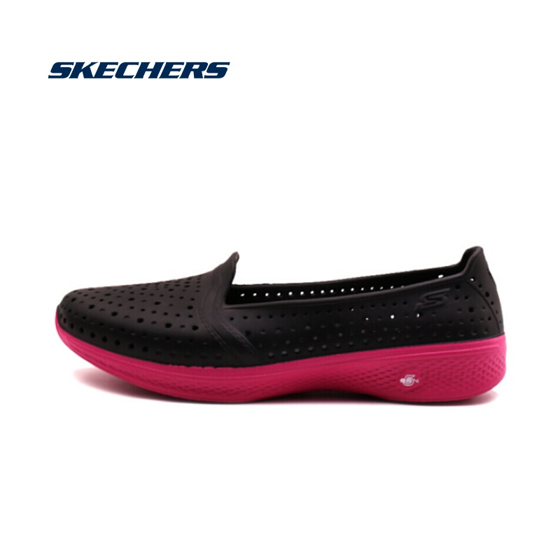 <font><b>Skechers</b></font> Flats Woman New Arrival Summer Shoes Woman Casual Shoes Comfortable Breathable <font><b>Women</b></font> Flats High Quality 14690-NVBL image