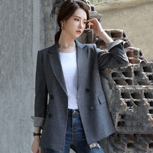 High quality casual women's suit Autumn new chic blazer Fema