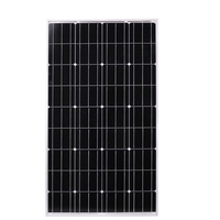 12v solar panel 100w 120W powerbank solar charger 18V photovoltaic Solar Cell Monocrystalline silicon solar panel china For Home