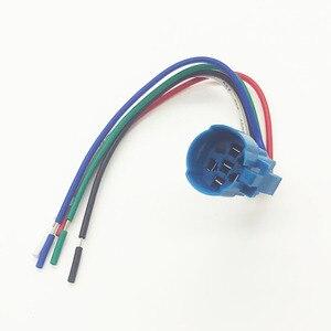 Image 5 - Interruptor de botón de Metal de 16mm luz LED 12V 24V 36V 48V 110V 220V tipo de bloqueo momentáneo botón de encendido de parada de arranque