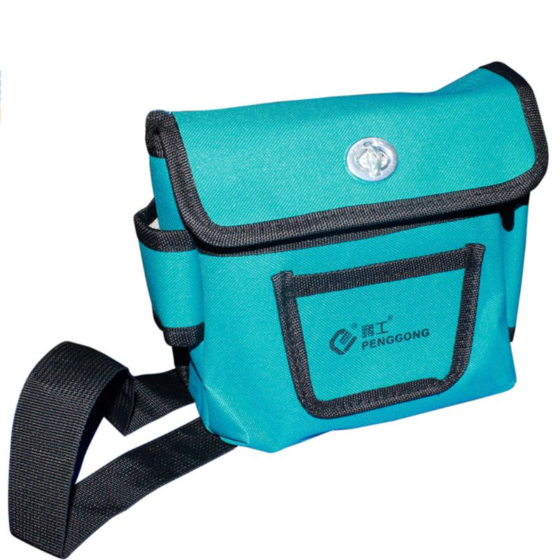 Electrician Hardware Toolkit Shoulder Bag Waterproof Durable Oxford Cloth Multi Organize Pockets Storage Pouch Portable