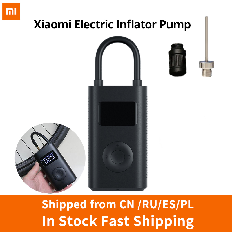 US $40.82 33% OFF|Xiaomi Electric Inflator Pump Smart Digital Tire Pressure Detection For Scooter Bike Motorcycle Scooter M365 Pro Car Football|Smart Remote Control| |  - AliExpress