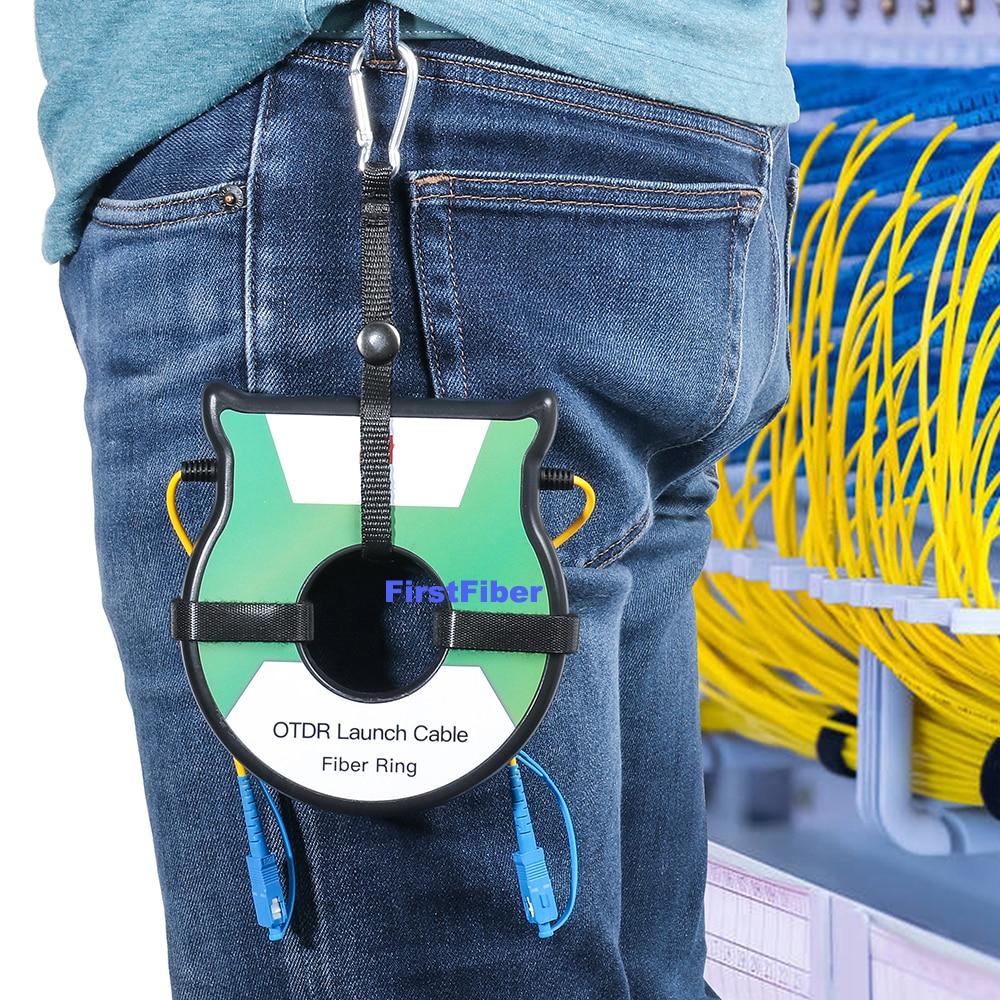 Free Shipping OTDR Dead Zone Eliminator,Fiber Rings 500M Fiber Optic OTDR Launch Cable Box 1Km 2Km SM 1310/1550nm SC/APC SC/UPC