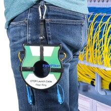 Éliminateur de Zone morte OTDR, anneaux de Fiber optique OTDR 500M, boîte de câble de lancement 1Km 2Km SM 1310/1550nm SC/APC SC/UPC