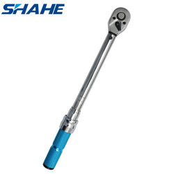 shahe 1/2 '' 3/8 ''Torque Wrench 5-60 N.m 3% accuracy Preset Ratchet Torque Wrench Car Bike Repair Hand Tools Adjustable wrench