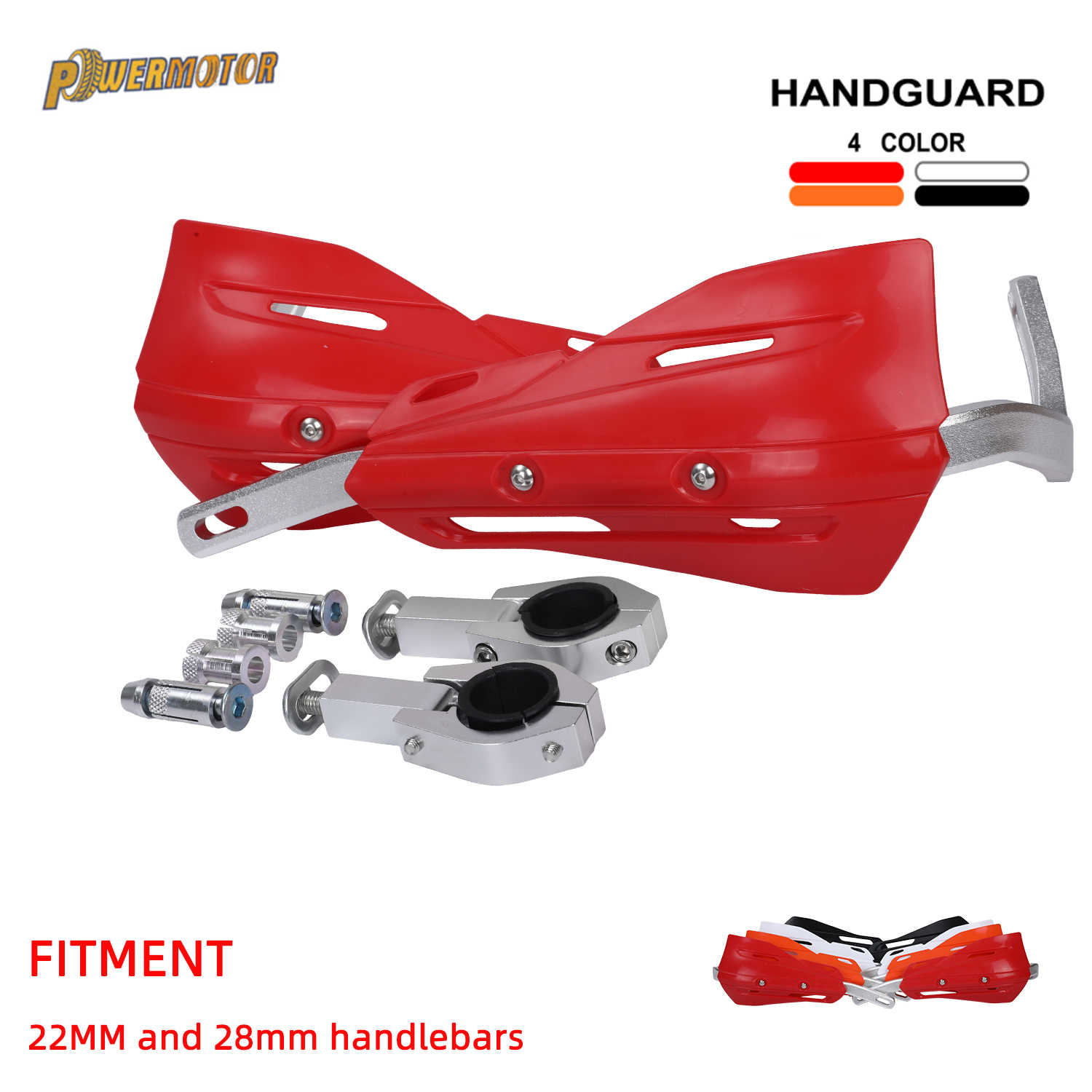 22 Mm 28 Mm Motorcycle Handguards Hand Guards Voor Cr Crf Yzf Kxf Rmz Kayo Bse Ktm Dirt Bike Mx motocross Enduro Supermoto Off Road