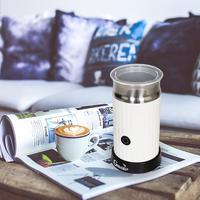 Automatic Cappuccino Coffee Maker Electric Milk Bubble Machine Milk Frother Foamer Cup Heat Latte Hot Foam Maker Warmer