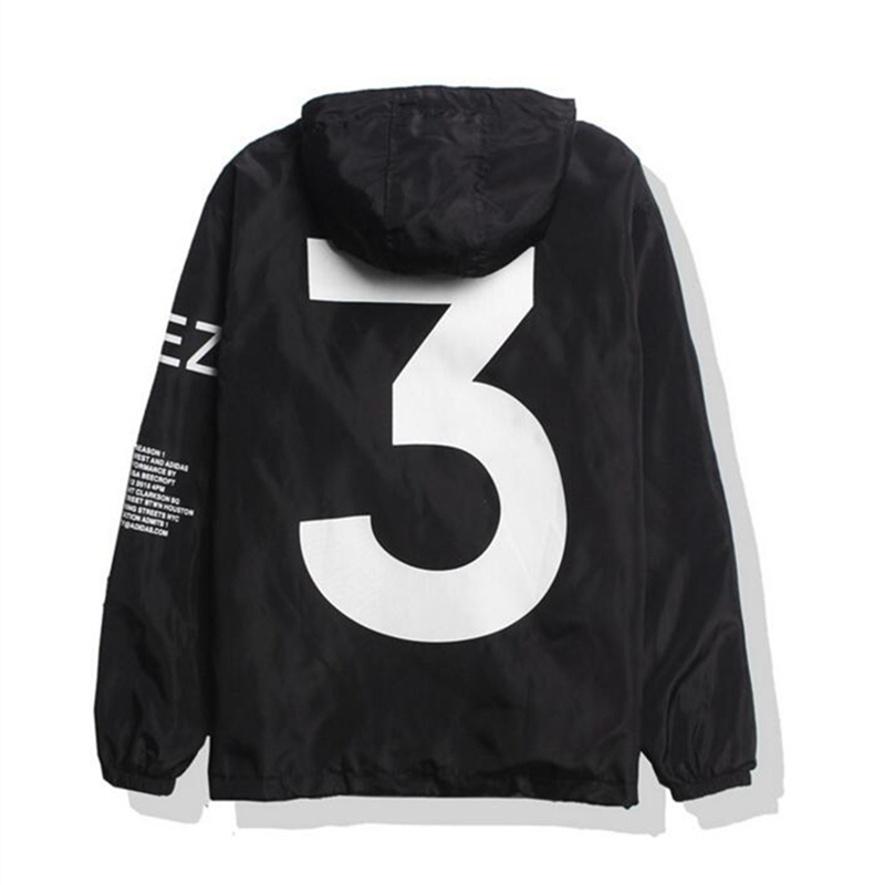 Tour Season 3 Windbreaker Fashion Vitality Jacket Men Y-3 Logo Letter Printed Jacket Men Thin Casual Suncreen Jackets Dropship