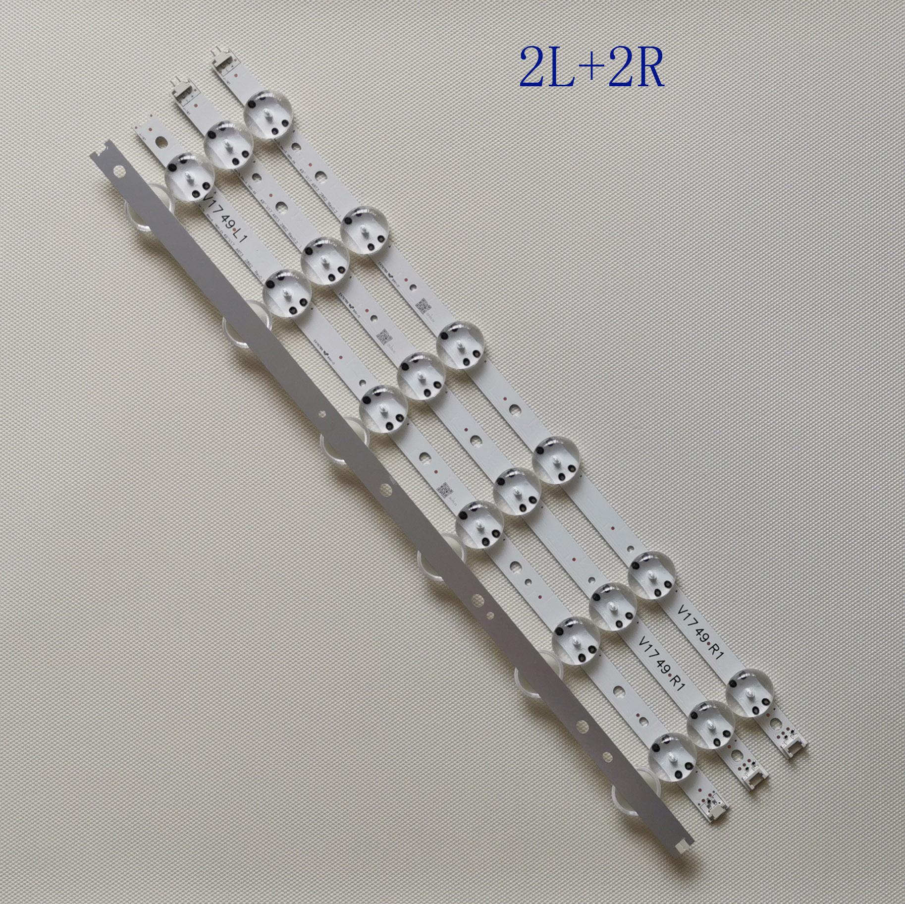 20PCS=5set LED Backlight Strip For LG 49UV340C 49UJ6565 49UJ670V V17 49