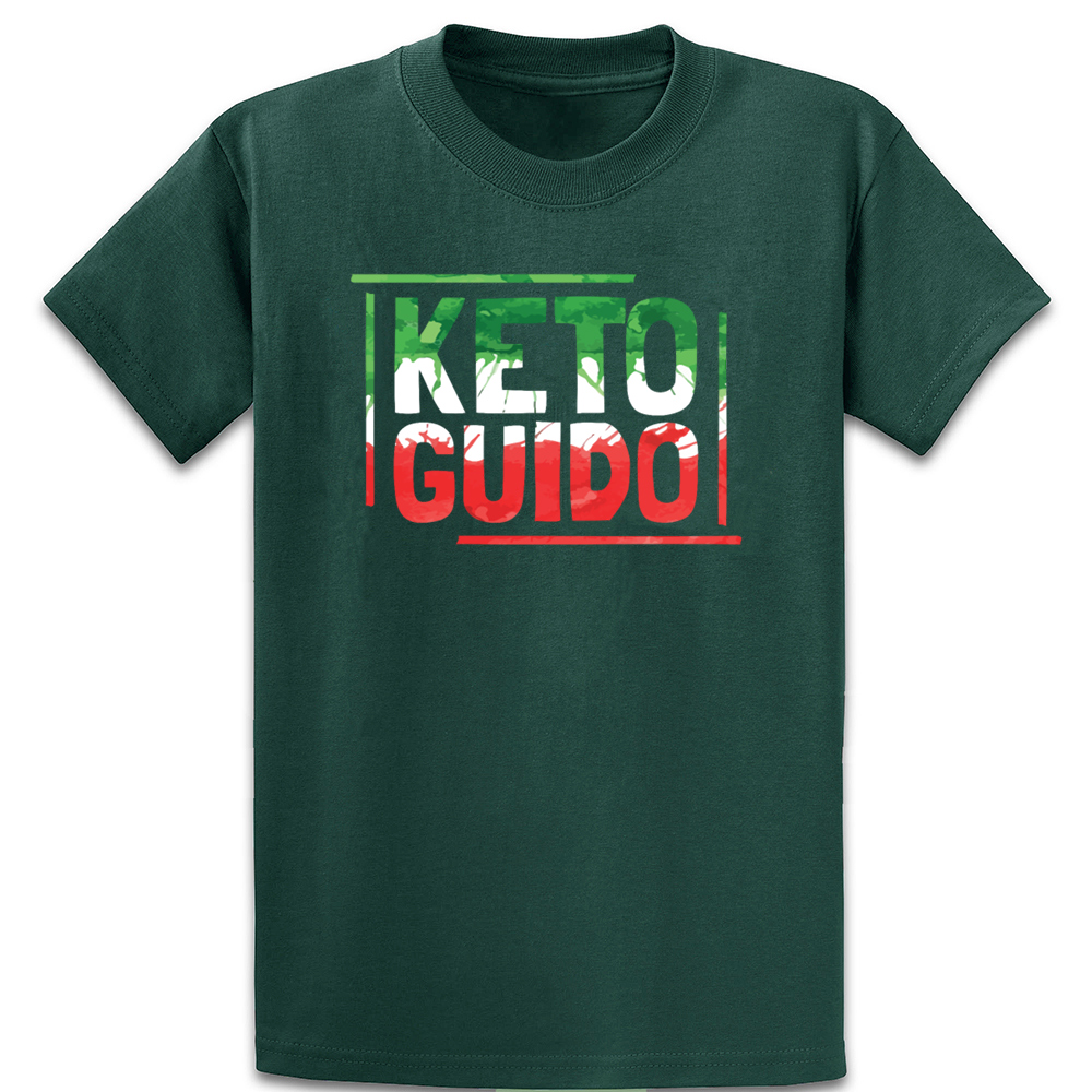 Keto Guido Italian Keto Italia Diet T Shirt Spring Homme S-5xl Trend Gift Tee Shirt Fashion Design Shirt