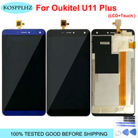 For Oukitel u11 plus LCD Display And Touch Screen Repair Parts 5.5 Inch Replacement For u 11 plus+Tools