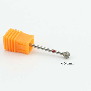 Image 5 - Brocas rotativas de diamante para manicura, 1 uds., limas eléctricas para máquina de pedicura, limpieza de cutículas, accesorios