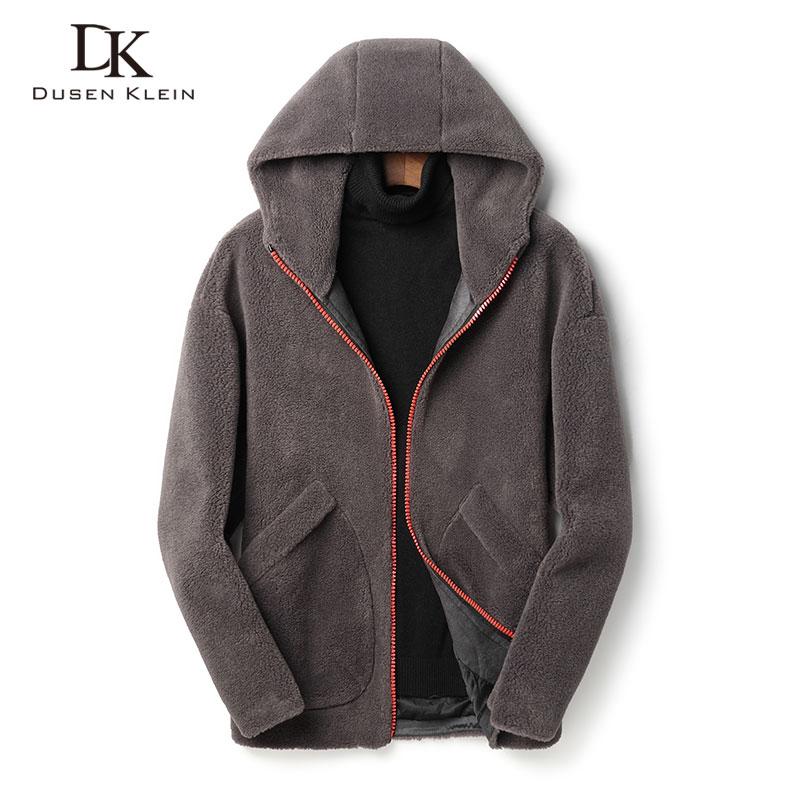 Wool Winter Men Woolen Jackets Casual Warm Coat 2020 New Blends 1926