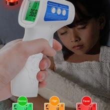 Цифровой термометр Cofoe для лба, Бесконтактный инфракрасный медицинский термометр для измерения температуры тела, инструмент для измерения ...