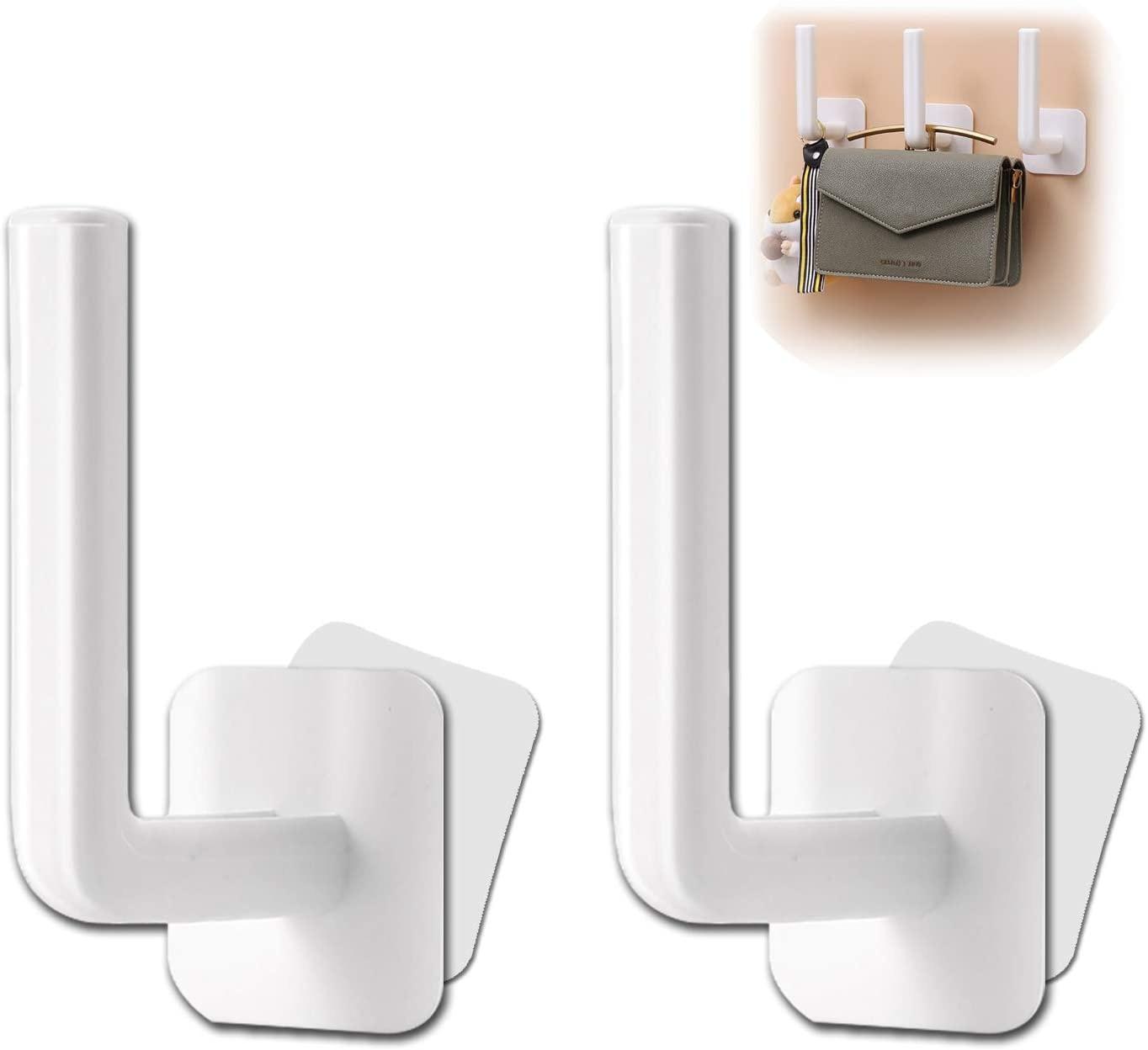 2 шт. многофункциональные настенные крючки для подвешивания пальто 3 м крючки на клейкой основе для кухни ванной комнаты спальни Кабинета ду...