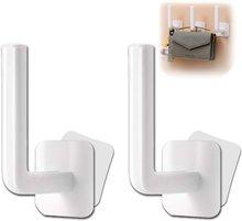 2 pçs muilt-purpose ganchos de parede para casacos de suspensão 3m ganchos adesivos gancho para cozinha banheiro quarto cabine de chuveiro pendurado