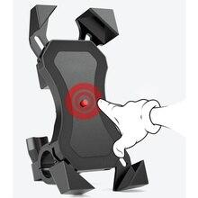 Держатель для телефона на велосипед, мотоцикл, 360 Вращающийся Руль, держатель для телефона на велосипед, зеркало заднего вида, подставка для мобильного телефона, держатель, кронштейн