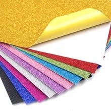 10 шт. блестящая бумага сверкающая бумага для детской ремесленной деятельности DIY резаки Сверкающие Золотые бумажные листы ручной работы