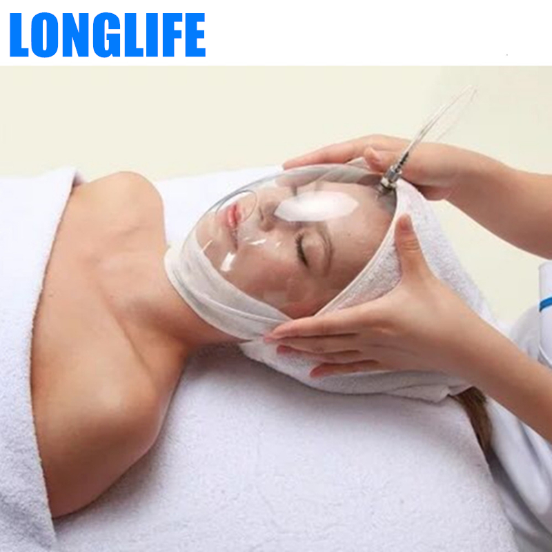 Oxygen Injection Mask For Beauty Oxygen Concentrator Thicken Transparent Whole Face Cover For Oxygen Injector