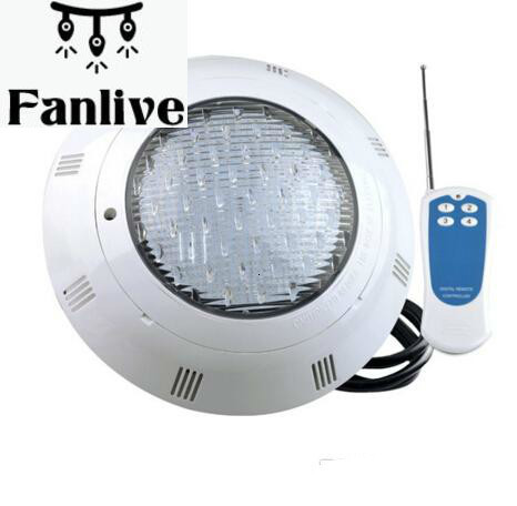4pcs LED Cool White 18W 24W 35W AC 12V Swimming Pools Pond Piscina IP68 Underwater Lights Lamp Synchronize Control CE ROSH