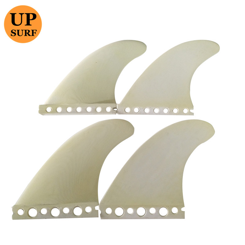 Wake Board Surf FCS Quad Fin G5 G3 FCS Fiberglass Fins High Quality beige color in Surfing from Sports Entertainment