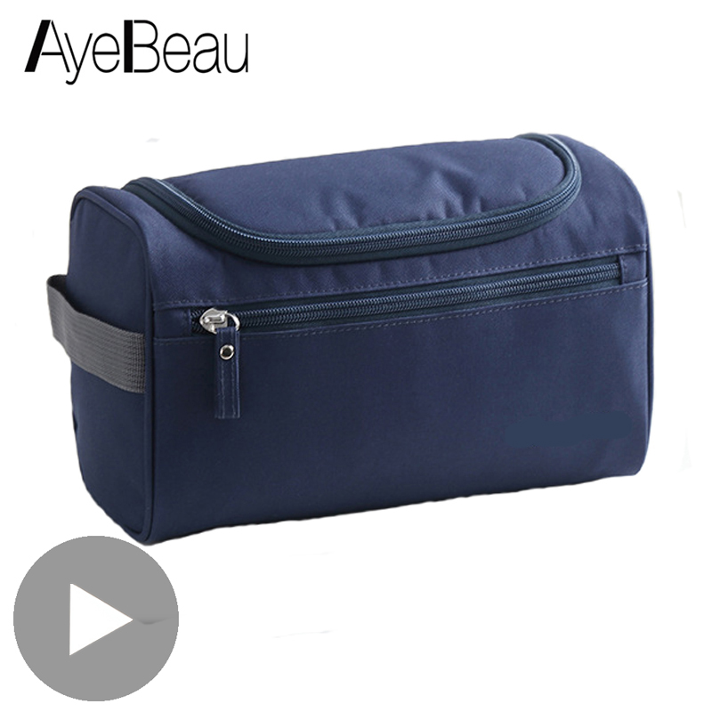 Vanity Women Men Toilet Toiletry Kit Cosmetic Makeup Make Up Bag Case For Travel Organizer Pouch Female Large Neceser Necessarie