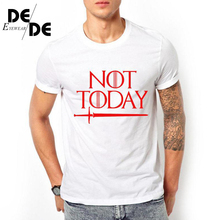 Dracarys right game around the US drama not today Printed T-shirt mens short sleeve wish2019