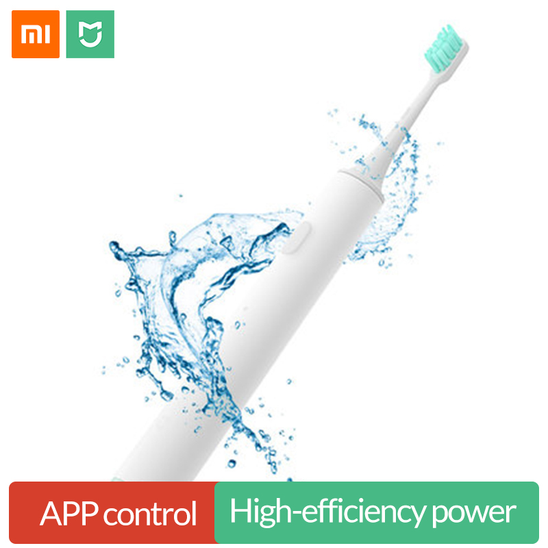 Xiaomi Mijia Sonic Electric Toothbrush Rechargeable Smart Ultrasonic Tooth Brush Waterproof USB Wireless Charging Mi APP Control