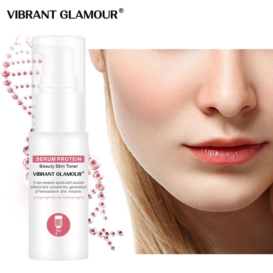 VIBRANT GLAMOUR Serum Protein Face Toner Anti-Wrinkle Whitening Serum Shrink Pores Anti-allergy Repair Sensitive Skin Care