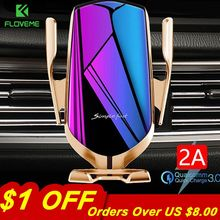 FLOVEME Automatic Clamping 10W Wireless Charger Car Holder S