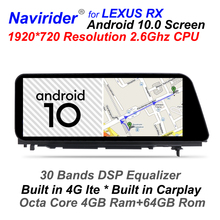 Multimedia Radio Gps Navigation 200t Rx400h Rx300 RX350L Rx450hl Android Lexus Rx 1