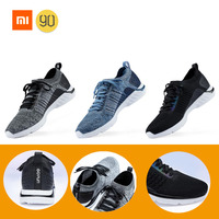 2019 New Arrival Xiaomi YouPin City Running Sneaker 90Fun Super light Anti bacterial Breathable Men Shoes for Outsports 3 Colors