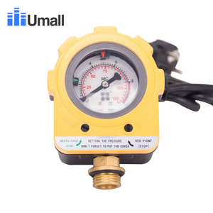 Image 1 - 10Bars Water Pump Automatic Intelligent Photoelectric switch Adjustable Electronic Pressure meter Controller AU Plug 220v