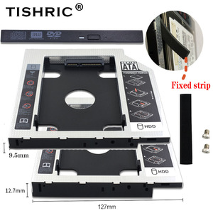 Universal Tishric 9.5mm/12.7mm 2nd Hdd Caddy SATA 3.0 Adapter For 2.5