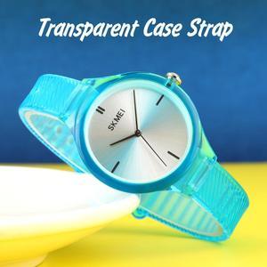Image 4 - SKMEI נשים שעונים יוקרה למעלה מותגים פשוט קוורץ שעון יד אופנה נשי ילדה שעון Relogio Feminino גבירותיי שעוני יד