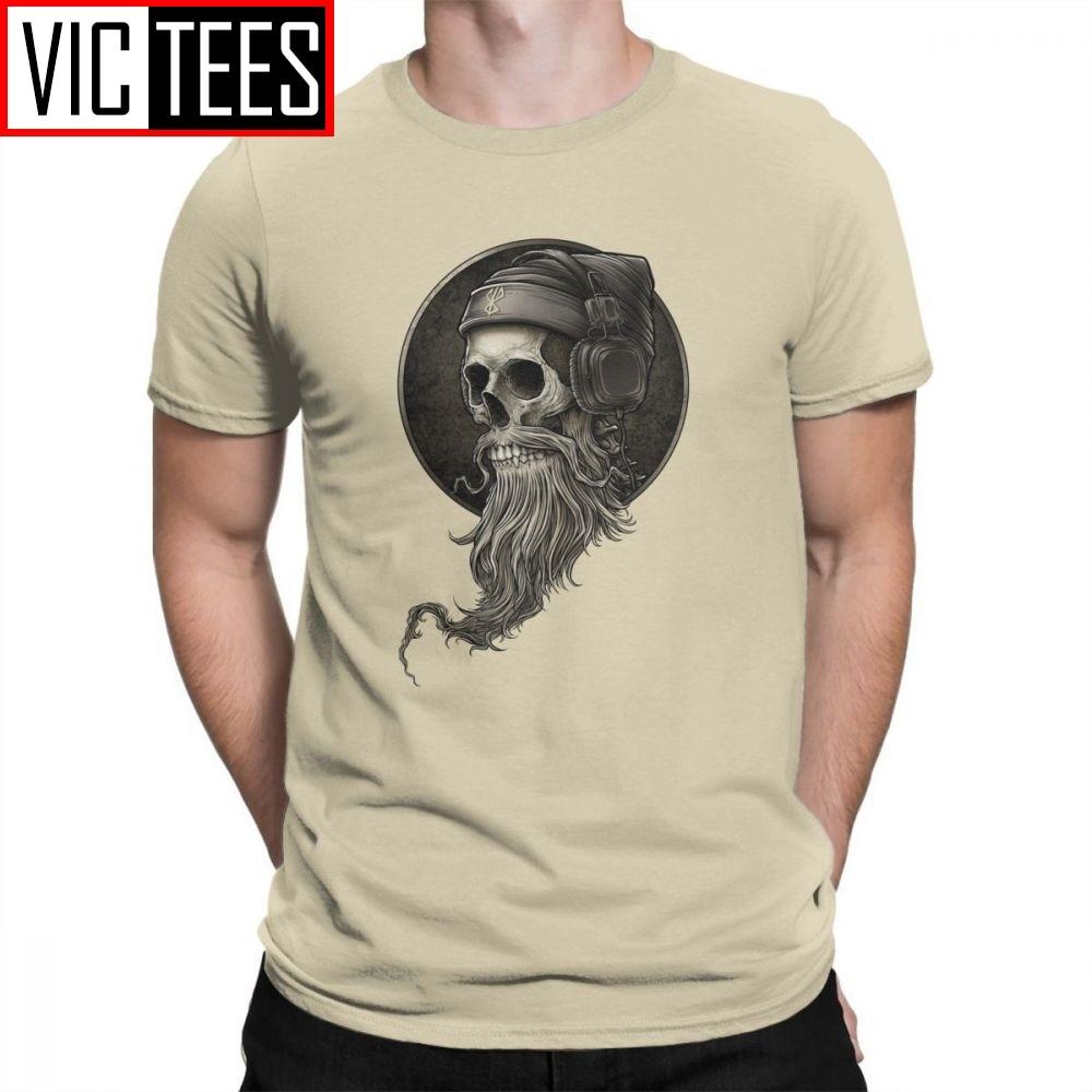 Pistol Boutique mens Black HIPSTER SKULL beard fashion casual Raglan sweatshirt