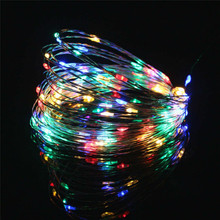 5V USB LED String Light 20M Copper Wire Waterproof Fairy LED Flexible Christmas Lights For Wedding Party Holiday Decoration