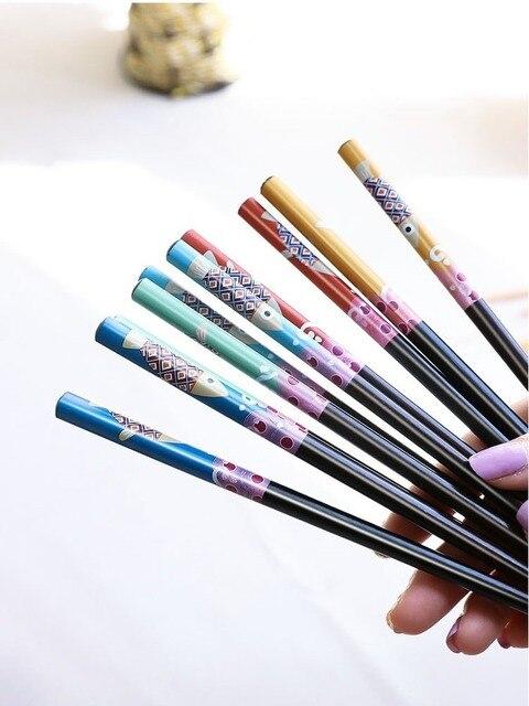 Купить 1 пара деревянные бамбуковые палочки для еды в японском стиле картинки цена