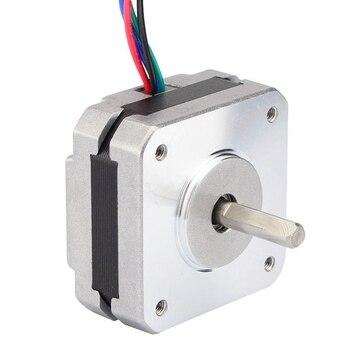 17Hs08-1004S 4-Lead Nema 17 Stepper Motor 20Mm 1A 13Ncm(18.4Oz.In) 42 Motor Nema17 Stepper For Diy 3D Printer Cnc Xyz
