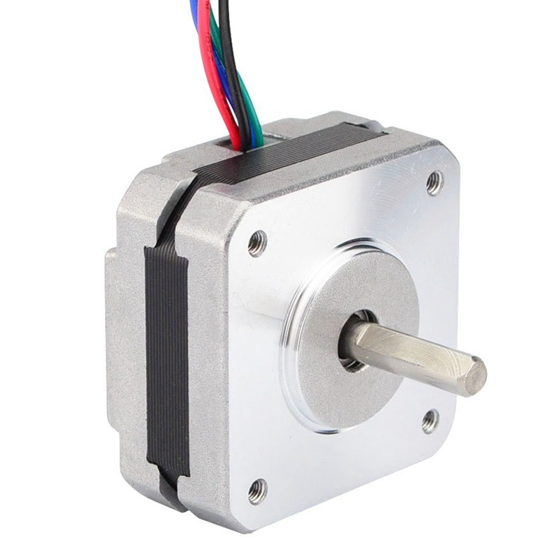 17Hs08-1004S 4-Lead Nema 17 moteur pas à pas 20Mm 1A 13Ncm (18.4Oz.In) 42 moteur Nema17 pas à pas pour bricolage 3D imprimante CNC Xyz